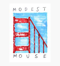 Modest Mouse Photographic Print