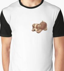 Pouncing puppy Graphic T-Shirt