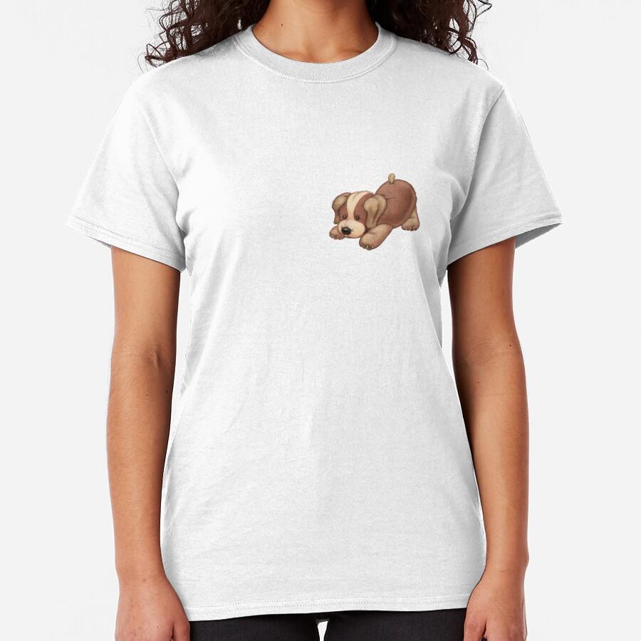 Pouncing puppy Classic T-Shirt