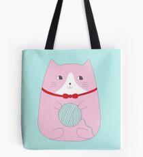 YARN KITTY Tote Bag