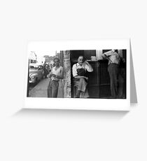 The  Australian Jam Factory AJC Circa 1950 Greeting Card