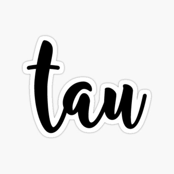 tau Sticker