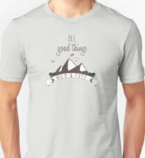 Wildlife and Nature Products - All Good Things are Wild & Free T-Shirt