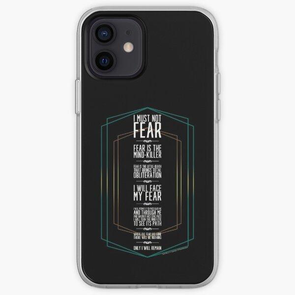 DUNE MOVIE-Litany Against Fear-House Atreides  iPhone Soft Case