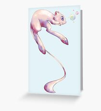 #151 Mew Greeting Card