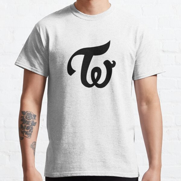 Twice - Logo - Black Classic T-Shirt