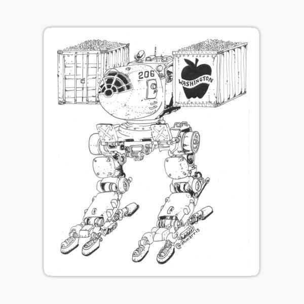 Applemech Sticker
