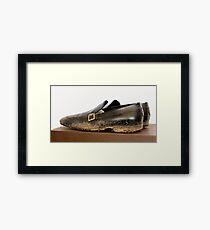 Billionaire Genshiro Kawamoto: Big Shoes To Fill. Framed Print
