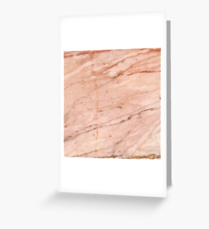 Rose-Gold Marble Greeting Card