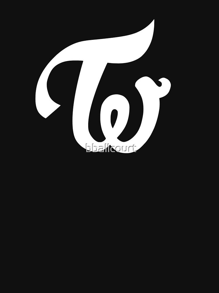 Zweimal - Logo - Weiß von bballcourt