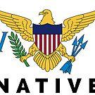UNTIED STATES VIRGIN ISLANDS NATIVE USVI SAINT THOMAS JOHN CROIX by MyHandmadeSigns