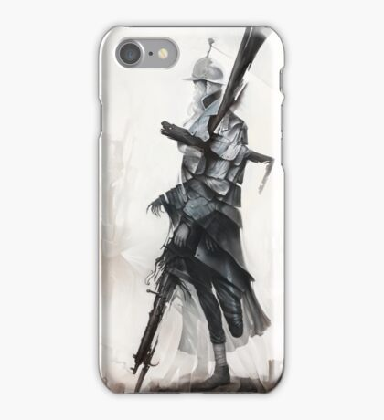 Apparition of War iPhone Case/Skin