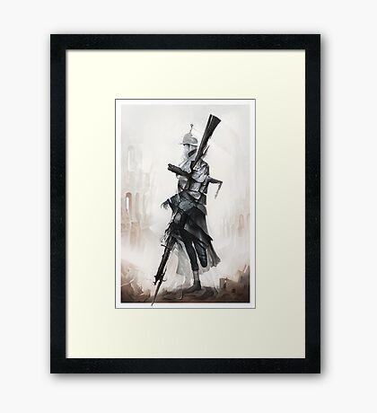 Apparition of War Framed Print
