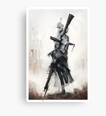Apparition of War Canvas Print