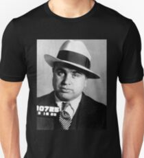 Al Capone Mafia Portrait T-Shirt