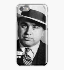 Al Capone Mafia Portrait iPhone Case/Skin