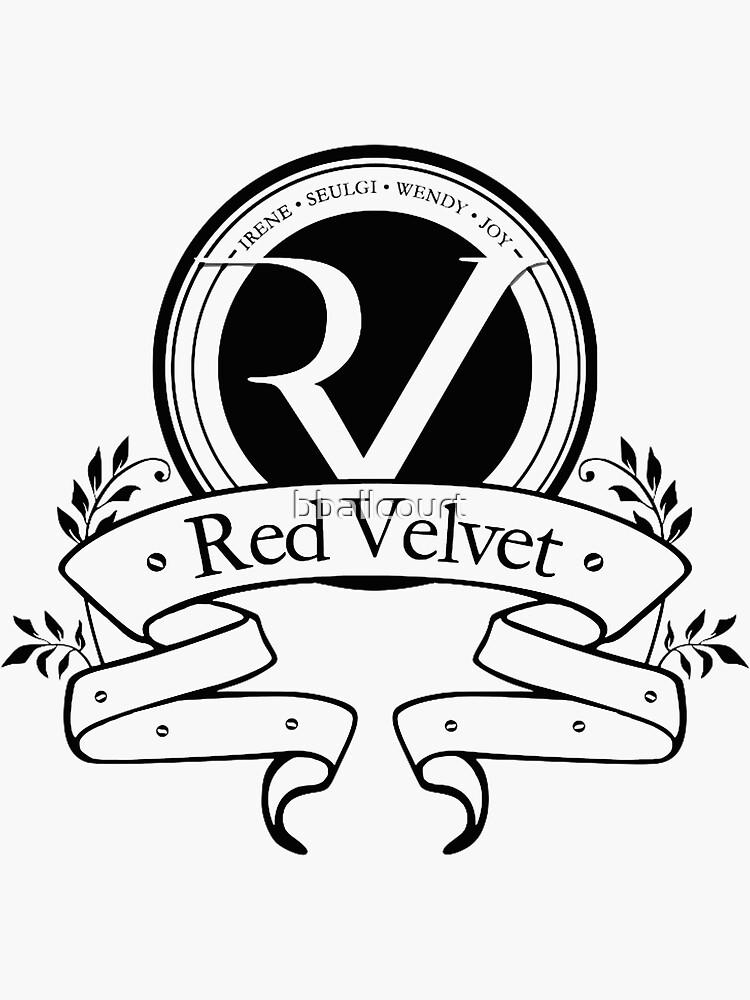 Red Velvet - Logo- Black by bballcourt