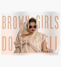 Brown Girls Do It Well Poster