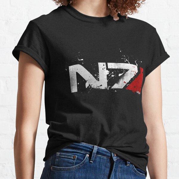 Mass Effect Distressed N7 Classic T-Shirt