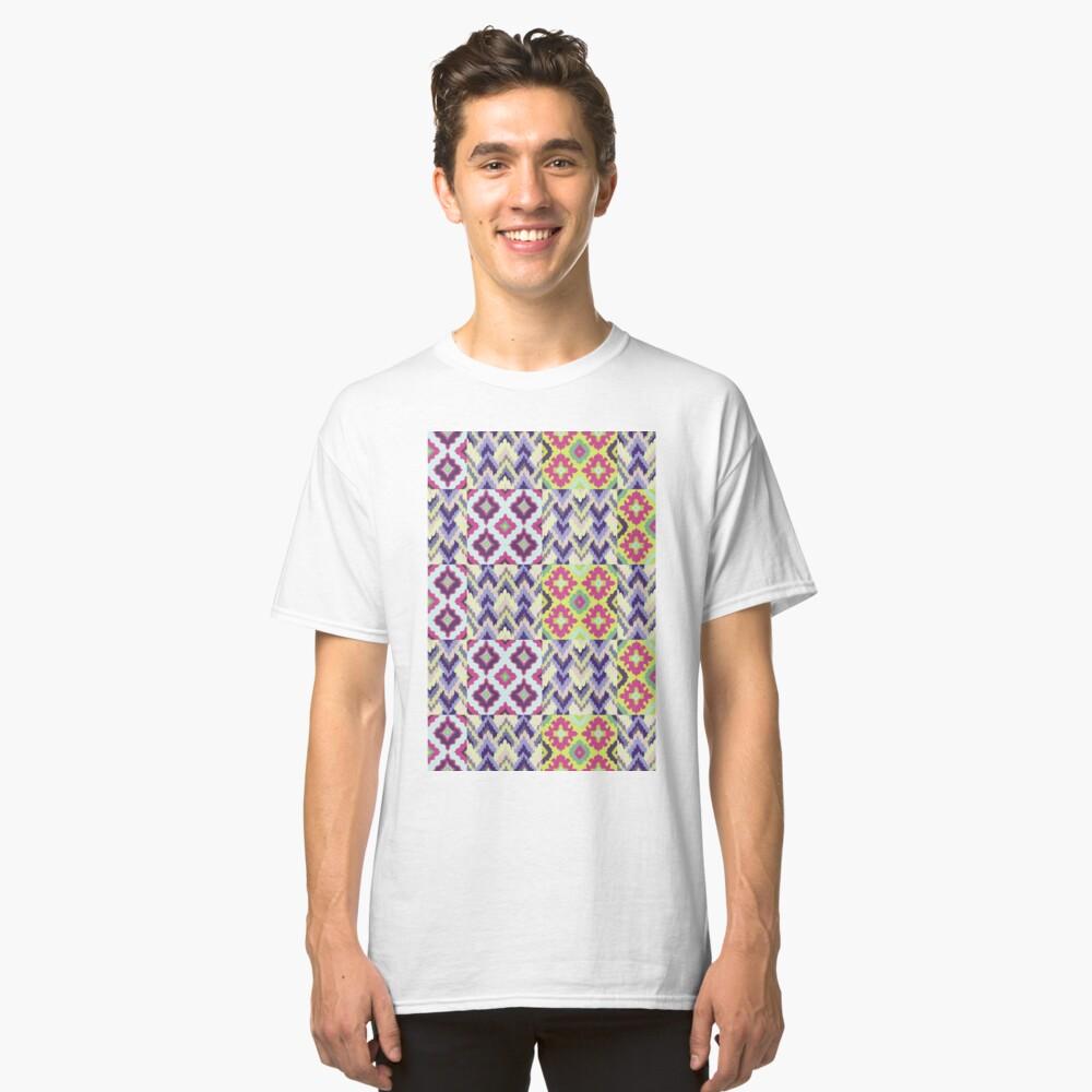 Decorative Ikat Pattern Classic T-Shirt