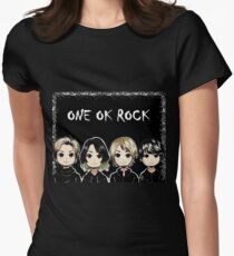 ONE OK ROCK Women's Fitted T-Shirt