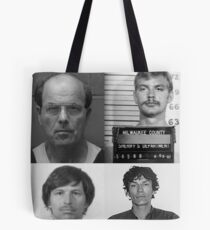 Serial Killers Mugshots Tote Bag