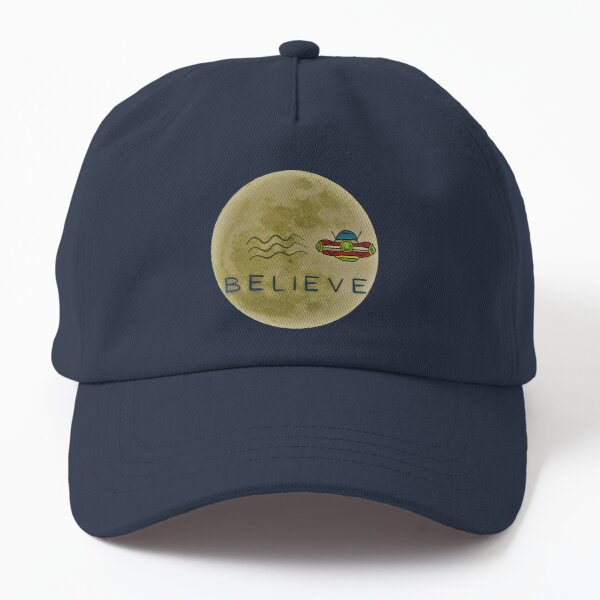 Copy of Perfect gift for the UFO buff. A simple design on T-shirts, mugs, magnets, buttons... Dad Hat