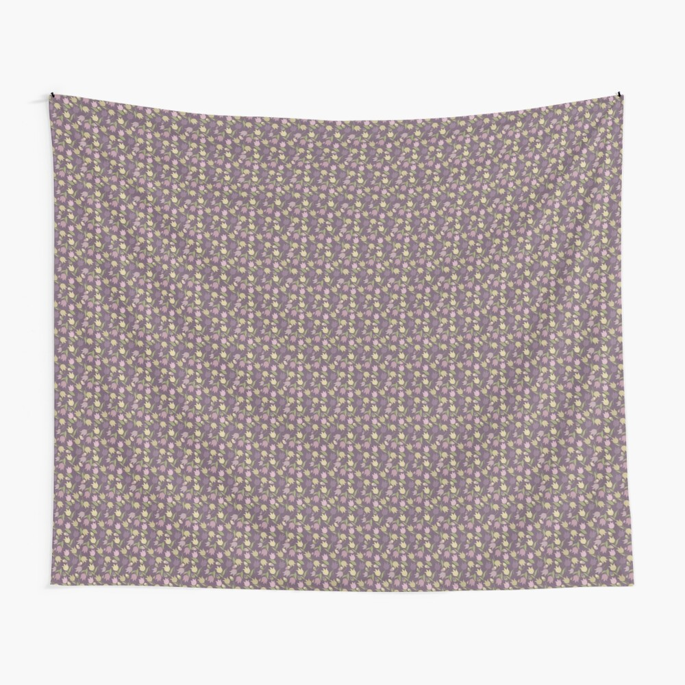 Tulips Pattern  Wall Tapestry