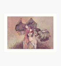 Eagle princess Art Print