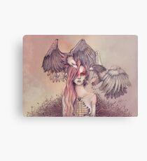 Eagle princess Metal Print