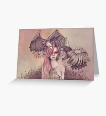 Eagle princess Greeting Card