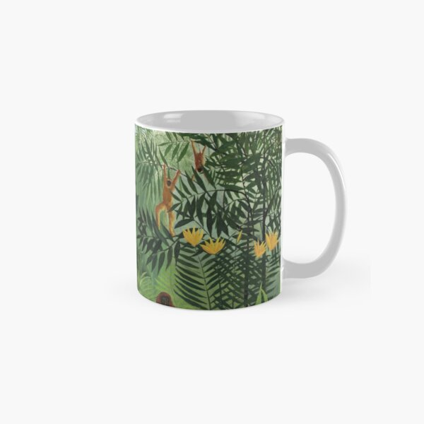 Tropical Forest with Monkeys Classic Mug