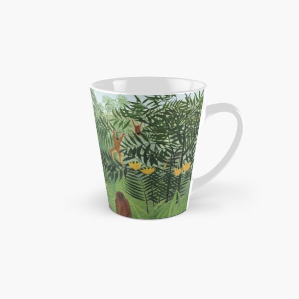 Tropical Forest with Monkeys Tall Mug