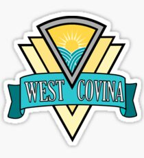 west covina Sticker