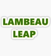 LAMBEAU LEAP Sticker