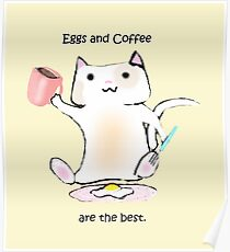 Eggs and Coffee Poster