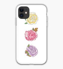 Decorative Roses iPhone Case