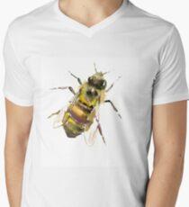 Honigbiene T-Shirt mit V-Ausschnitt für Männer