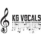 KG Vocals Logo by KGVocals