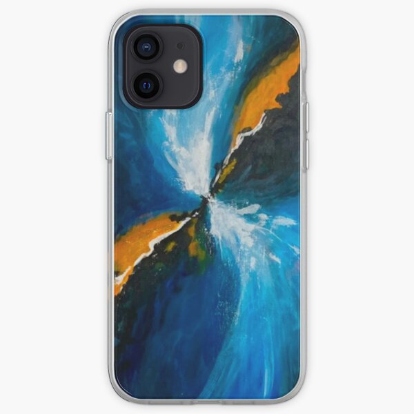 Abstract art design for phone case, Big bang inspired artwork iPhone Soft Case