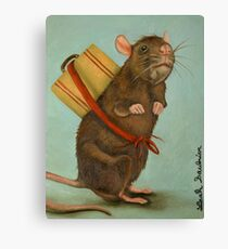 Pack Rat Canvas Print