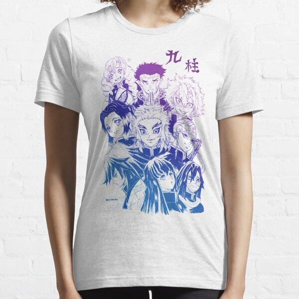 Demon Slayer Hashira aurora version  - by Q10mark Essential T-Shirt