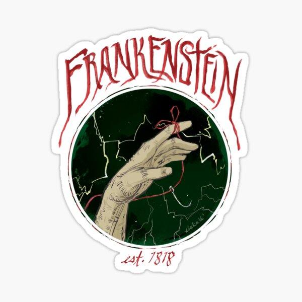 Frankenstein--Remember Me Sticker