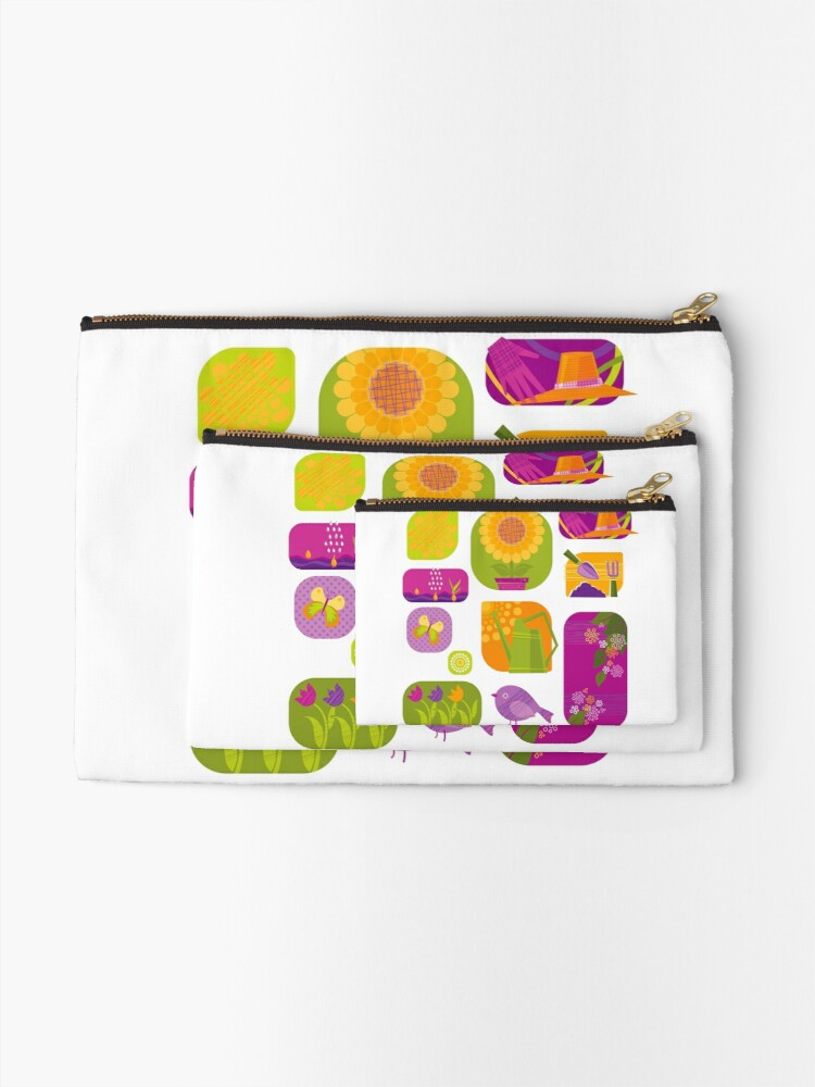 Alternate view of Spring Zipper Pouch