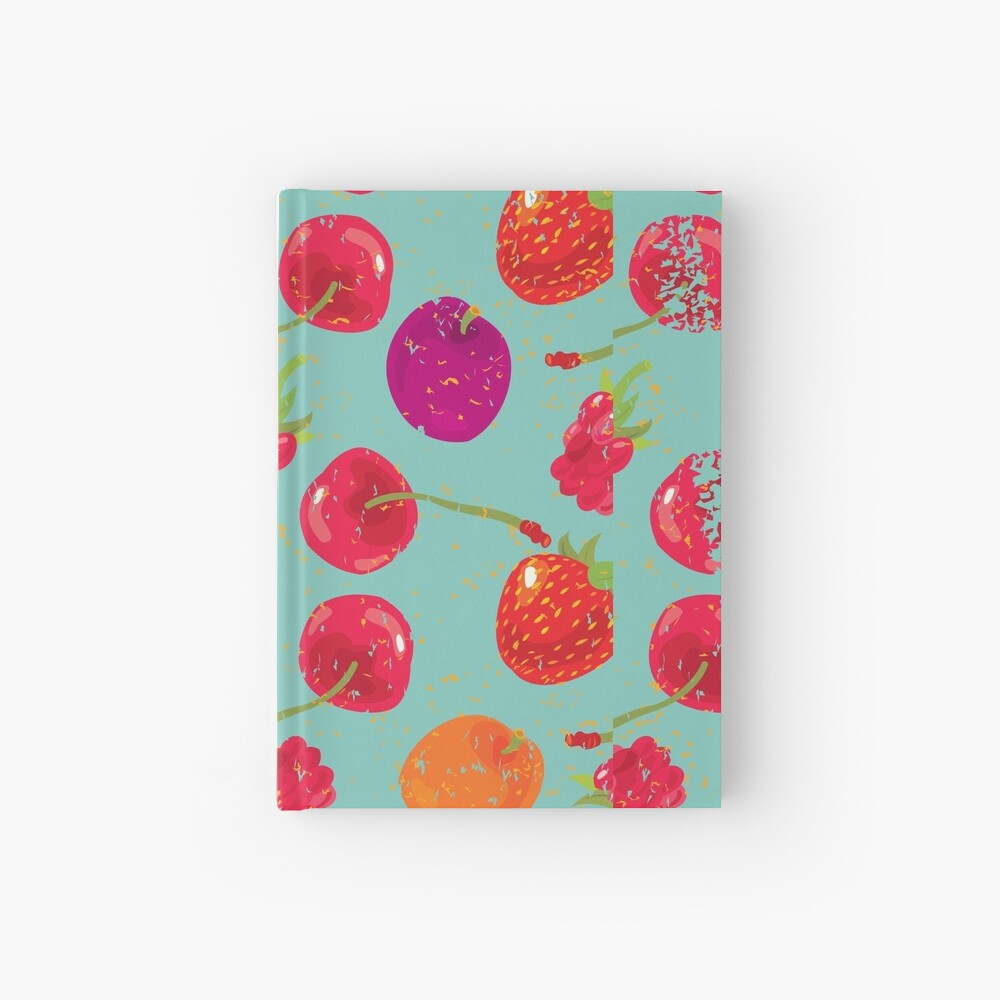 Sweet Berries Hardcover Journal