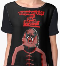 The Devil King Wants You For.... Bad Things Chiffon Top