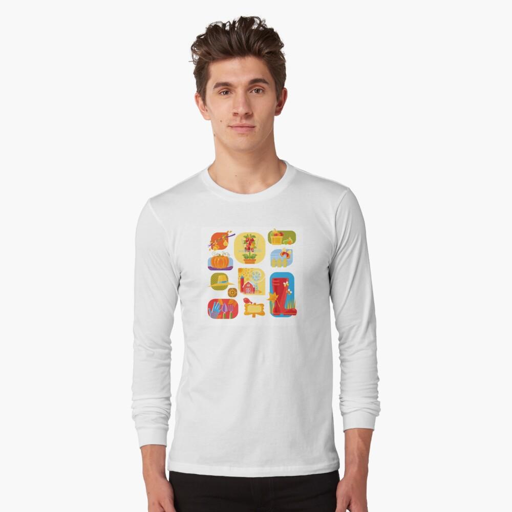 Autumn Farm  Long Sleeve T-Shirt