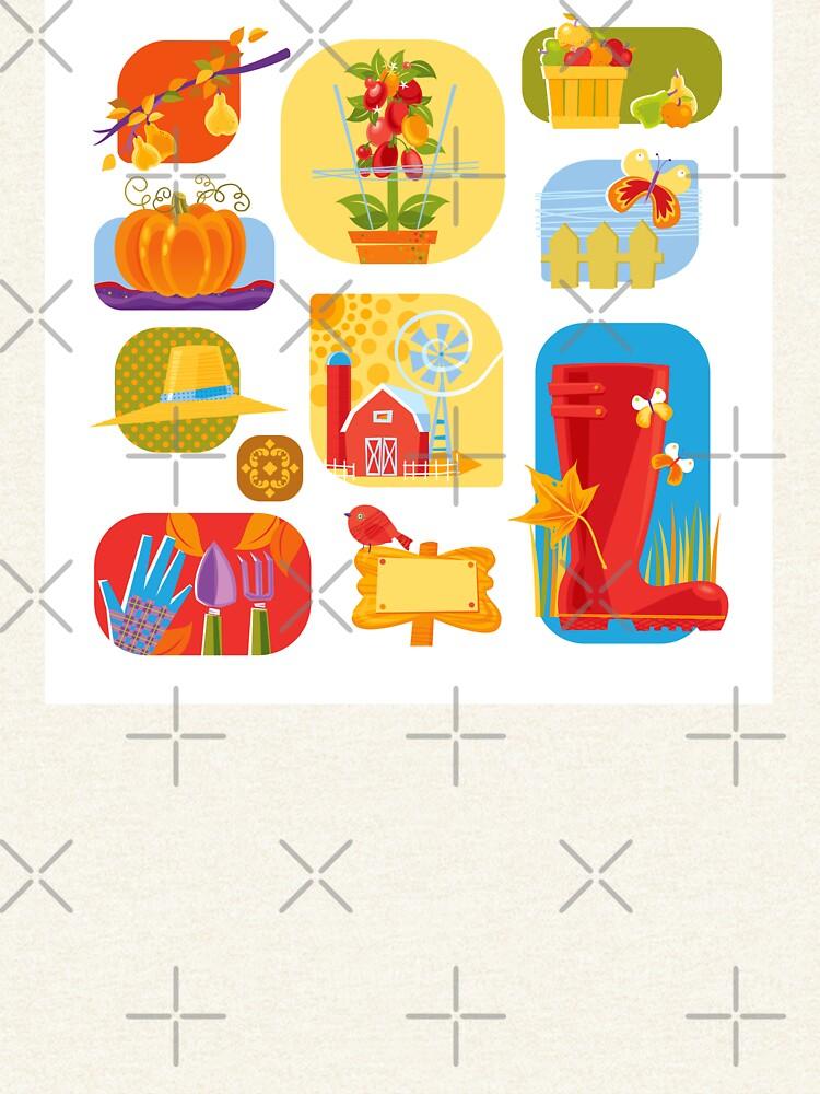 Autumn Farm  by rusanovska