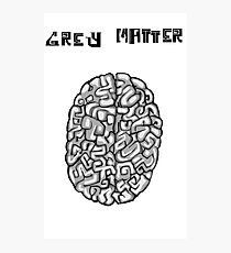 Grey Matter Photographic Print