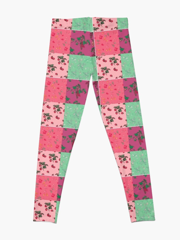 Alternate view of Decorative Berries Pattern Collection Leggings